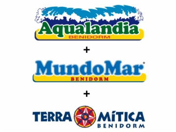 Ticket for Aqualandia, Mundomar and Terra Mitica